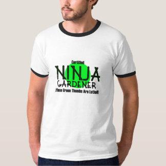 Certified Ninja Gardener T-Shirt