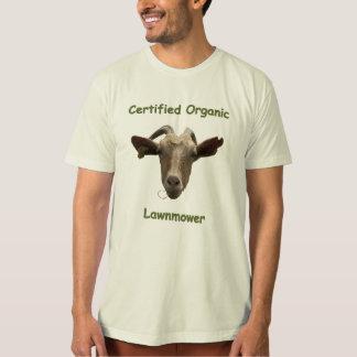 Certified Organic Lawnmower T-Shirt
