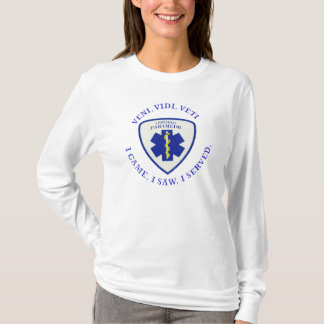 Certified Paramedic VVV Shield T-Shirt