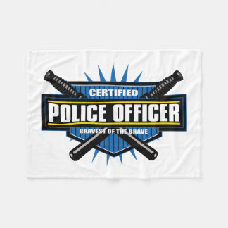 Certified Police Officer Fleece Blanket