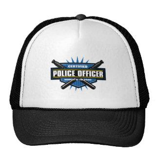 Certified Police Officer Trucker Hat