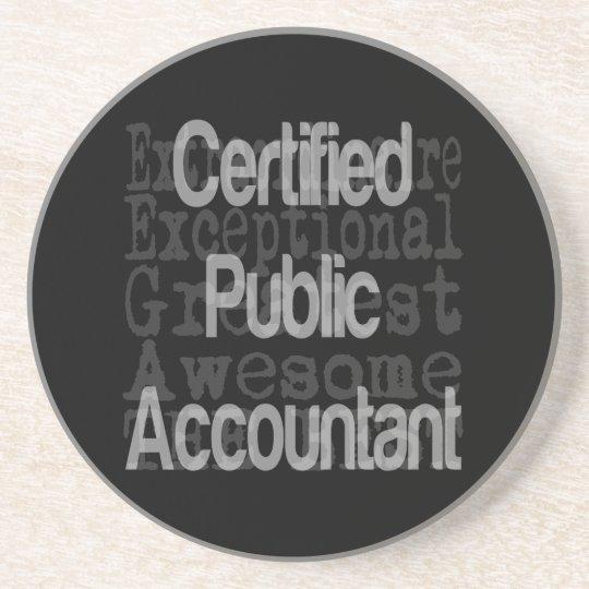 Certified Public Accountant Extraordinaire Coaster