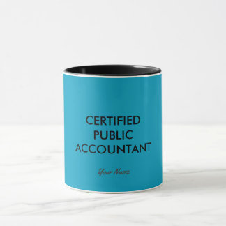 """Certified Public Accountant"" Mug"