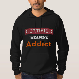 Certified Reading Addict Hoodie