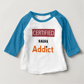 Certified Salsa Addict Baby T-Shirt