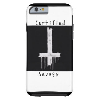 Certified savage anti-christ iphone case