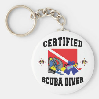 Certified SCUBA Diver Keychain