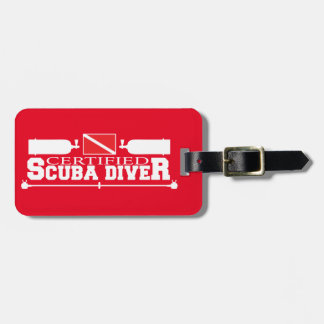 Certified Scuba Diver Luggage Tag
