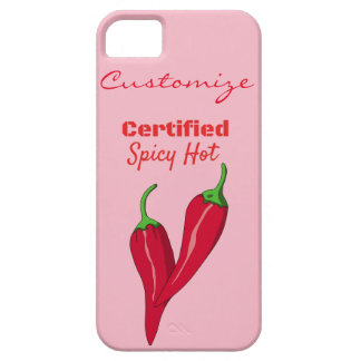 Certified Spicy Hot Thunder_Cove iPhone 5 Case