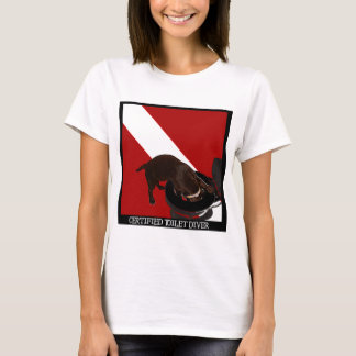 Certified Toilet Diver T-Shirt