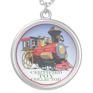 Certified Toy Collector Round Pendant Necklace
