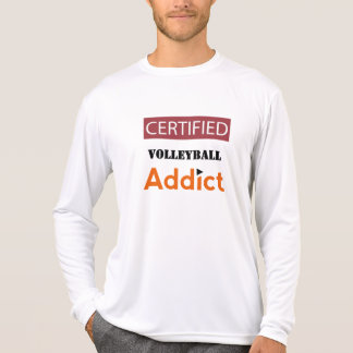 Certified Volleyball Addict T-Shirt