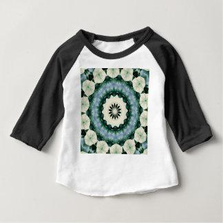 Cerulean Blue and Sacramento Green Mandala Baby T-Shirt