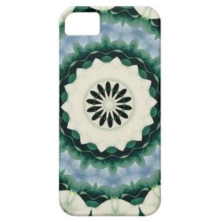 Cerulean Blue and Sacramento Green Mandala iPhone 5 Case