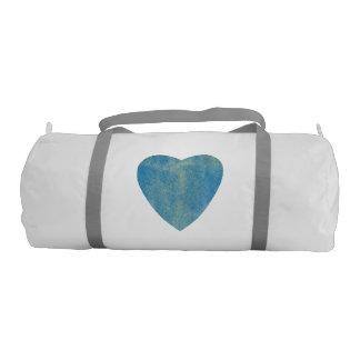 Cerulean Blue Watercolor Heart