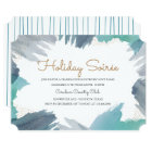 Cerulean Holiday Party Card