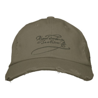 CERVANTES SIGNATURE-Embroidery - Cap-Gorra visera Embroidered Baseball Caps
