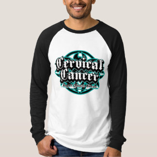 Cervical Cancer Tribal T-Shirt