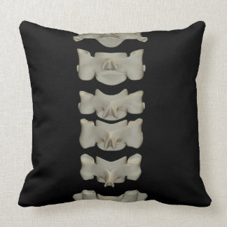 Cervical Vertebrae Throw Pillow