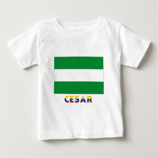 Cesar Flag with Name Baby T-Shirt