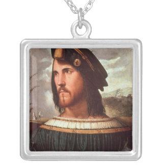 Cesare Borgia  Duke of Valencia Custom Necklace