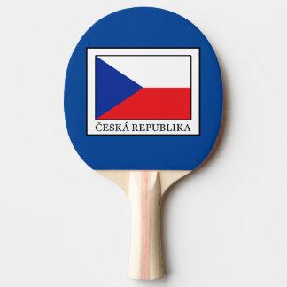 Ceska Republika Ping Pong Paddle