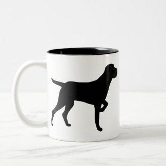 Cesky Fousek Two-Tone Coffee Mug