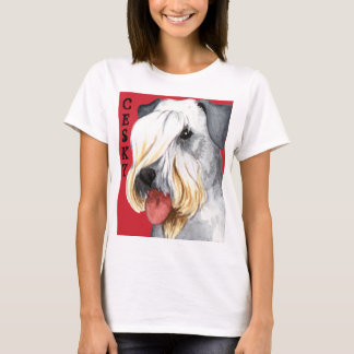 Cesky Terrier Color Block T-Shirt