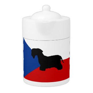 cesky terrier silo czech-republic flag