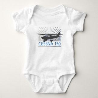 Cessna 150 Airplane Baby Bodysuit