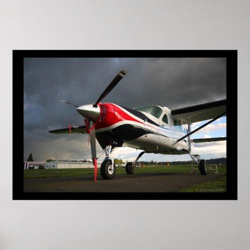 Cessna 208 Grand Caravan Poster
