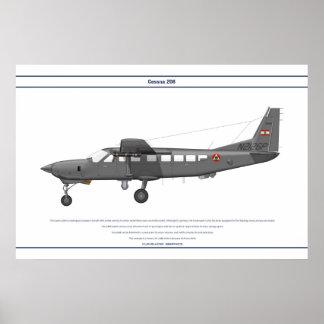 Cessna 208 Lebanon Poster