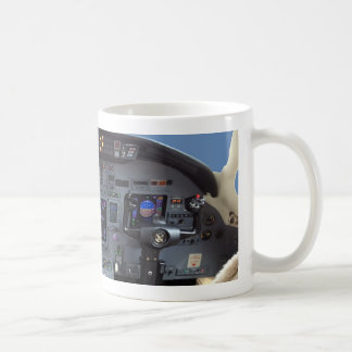 Cessna Citation Excel Cockpit Coffee Mug
