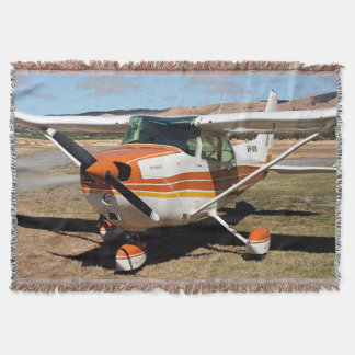 Cessna high wing aircraft throw blanket