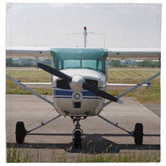 Cessna light aircraft napkin