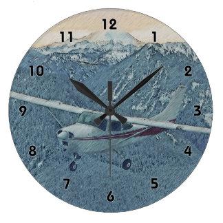 Cessna - Mt. Rainier Clock