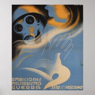 C'est 1937) affiches de _Propaganda de fascisme (