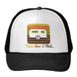 C'est comment je roule le rétro campeur de couleur casquettes de camionneur