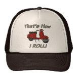 C'est comment je roule le vélomoteur casquettes