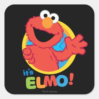 C'est Elmo Sticker Carré