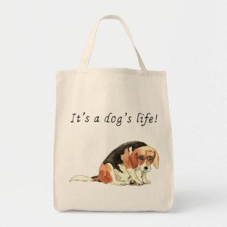 C'est la vie d'un chien, conception drôle de sac