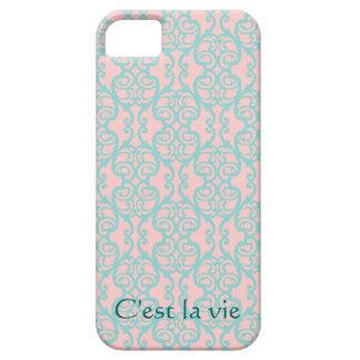C'est la vie Quote iPhone 5 Covers