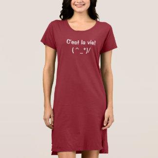 C'est la vie - Sexy T-shirt Dress