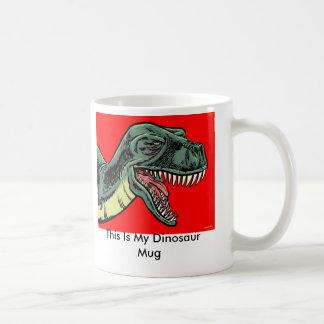 C'est ma tasse de dinosaure