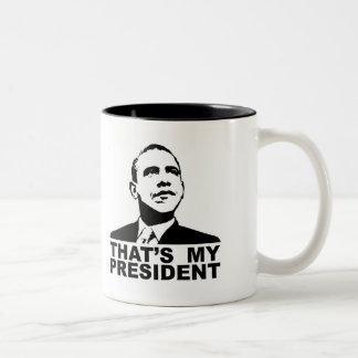 C'est ma tasse de président