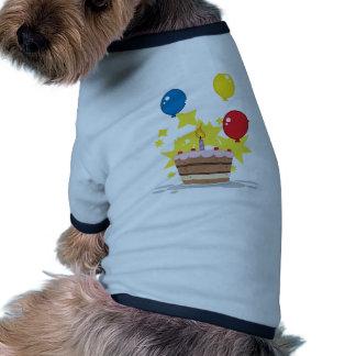 C'est mon anniversaire vêtement pour animal domestique