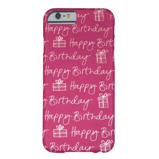 C'est mon anniversaire ! coque barely there iPhone 6
