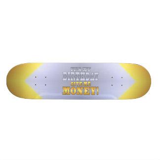 C'est mon anniversaire me donnent l'argent ! Plais Skateboard 20 Cm