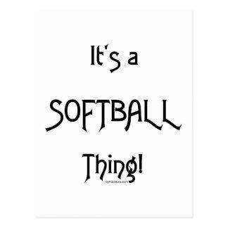 C'est un base-ball de chose… cartes postales
