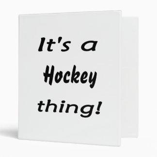 C'est une chose d'hockey ! classeur